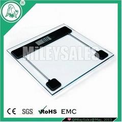 SLIM ELECTRONIC BATHROOM SCALE 12D
