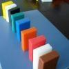 Self lubricating colorful uhmwpe sheet