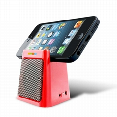 Mini Bluetooth Speaker with Mobile Docking Station