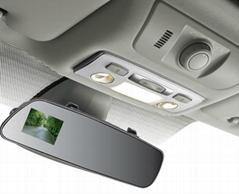 D600車載后視鏡高清1080P廣角夜視迷你行車記錄儀