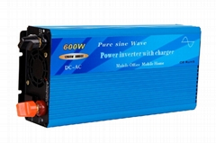 600W Pure sine wave power inverter with charger and auto transfer switch