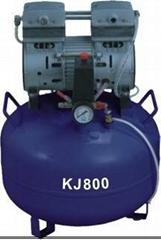 oil free 32L dental air compressor