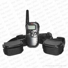 300-meter Range and 100-Level Vibration Pet Training Collar