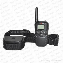 300-meter Range Dog Training Collar with LCD Display