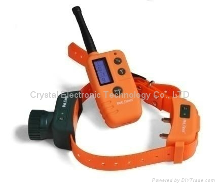 500-meter Range Waterproof Automatic Dog Training Collar with Charger 1