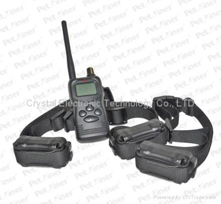 1000-meter Range Control and Vibrating Dog Collar 1