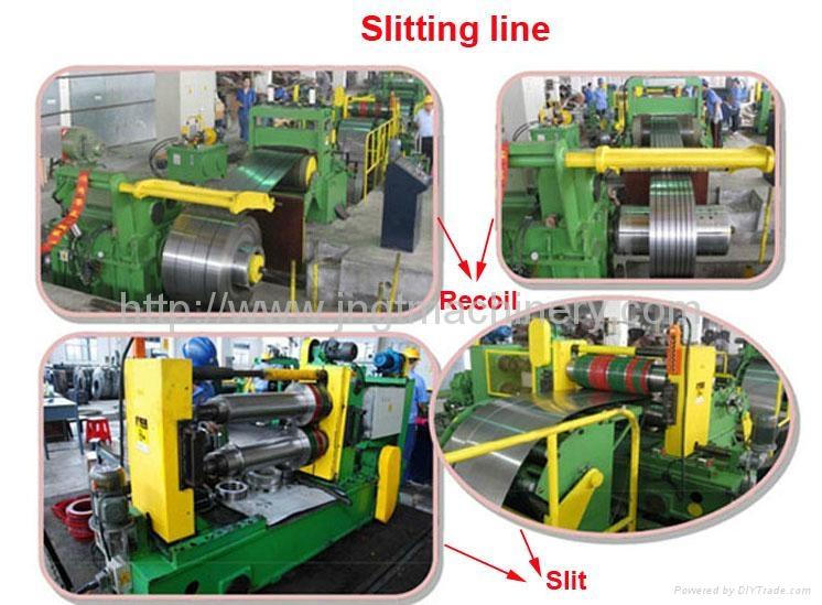 Slitting line tension unit uncoiling line machine uncoiler plate
