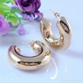 Most popular Stainless Steel earrings18k gold earrings hoop earrings