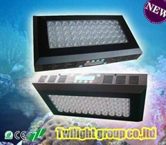120w fish tank led lighting system design by Twilight for coral reef with compe