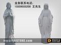 石雕圣母玛利亚雕像