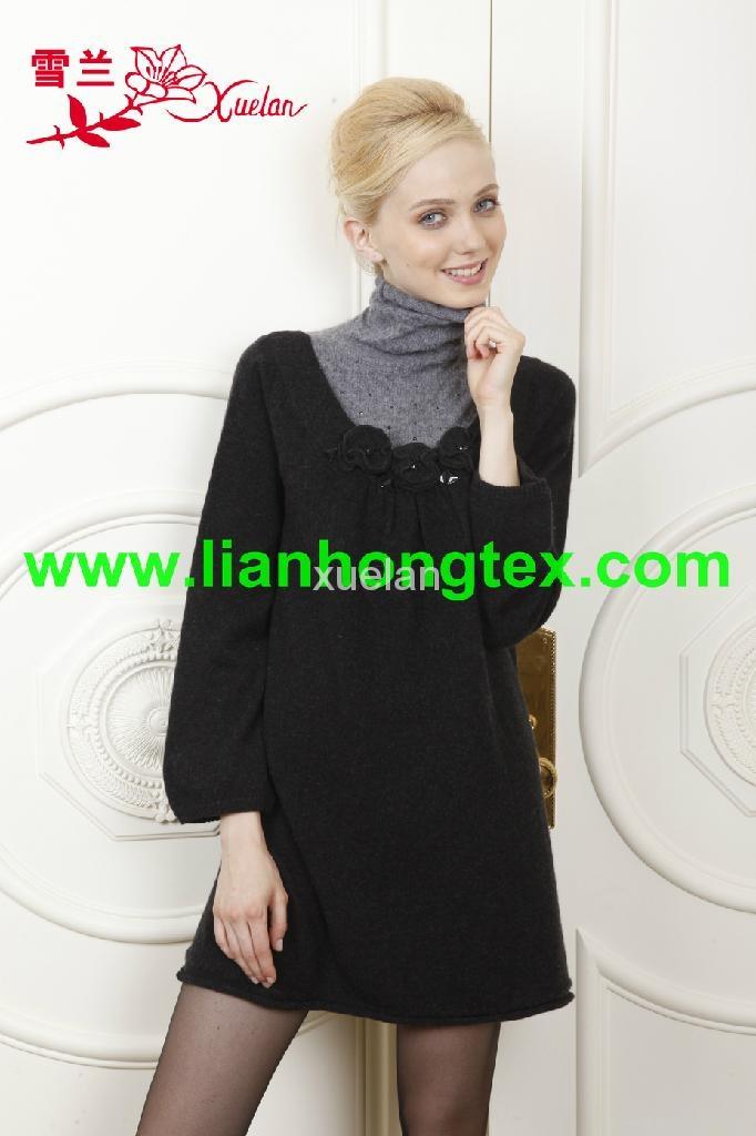 高品質女式羊毛衫 1
