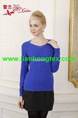 L-010 cardigan sweater for lady