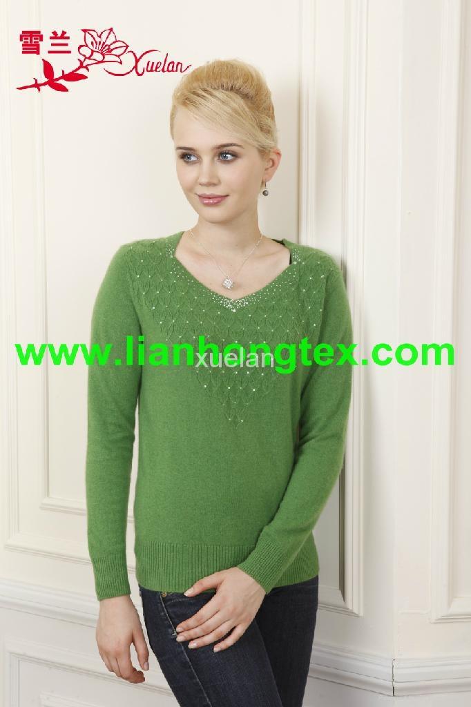 L-010 時尚女式羊毛衫 3