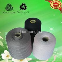 高品質半精紡羊毛混紡紗線
