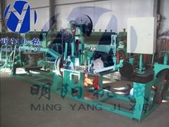 barbed wire netting machine