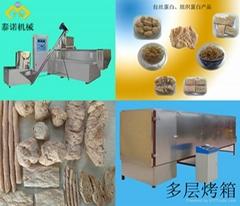 全新大豆拉丝蛋白设备
