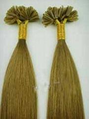 suppler price U-TIP 100% human remy hair extension