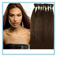 Wholesale high quality cheap i tip stick  human hair extension