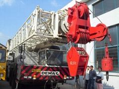 Demag AC265J(120t)Used Truck Crane,Used Truck Crane Demag AC265J in shanghai