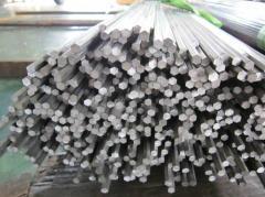 Free cutting hexagon steel bar