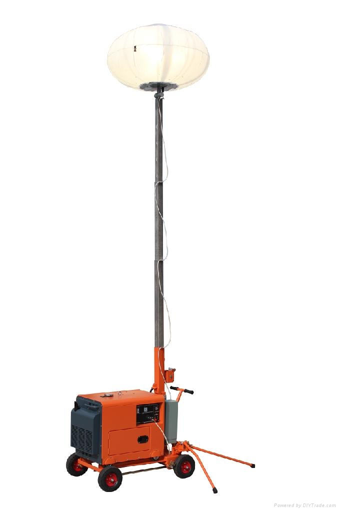 Portable Light Towers with Balloon Light 1000W 1