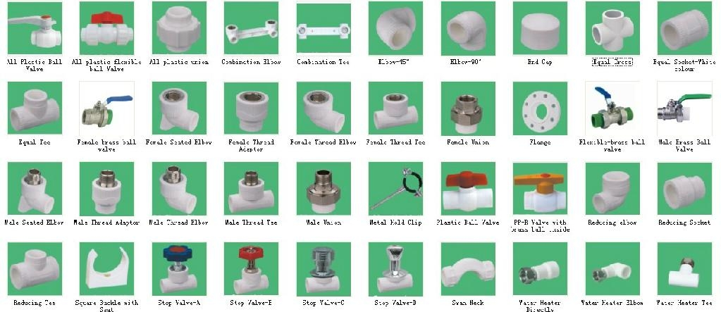 upvc pipe fittings names pdf