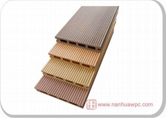 Nanhua wood plastic composit decking ND125H21B