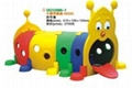 Plastic Playhouse and Play Drill Hole QQ12068-1 1