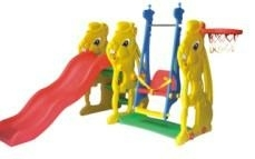 Plastic Slide with Swing(QQ12065)