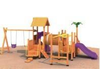 Wooden ourdoor playgroundQQ12042-6