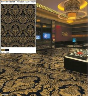 Hotel printed carpet wall to wall ty 1m515g01 ty for Wall to wall carpet brands