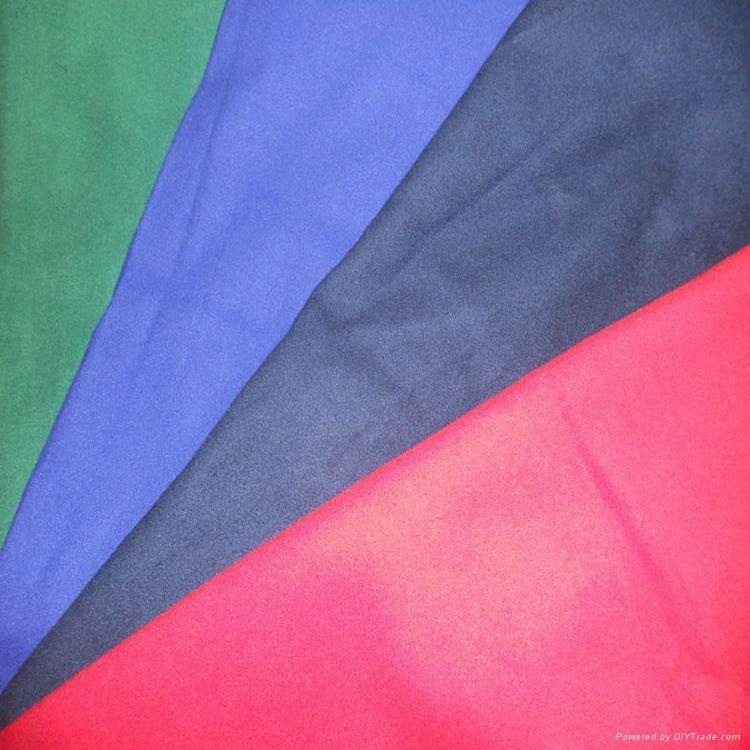 Polyester Nylon Suede Microfiber towel fabric 2
