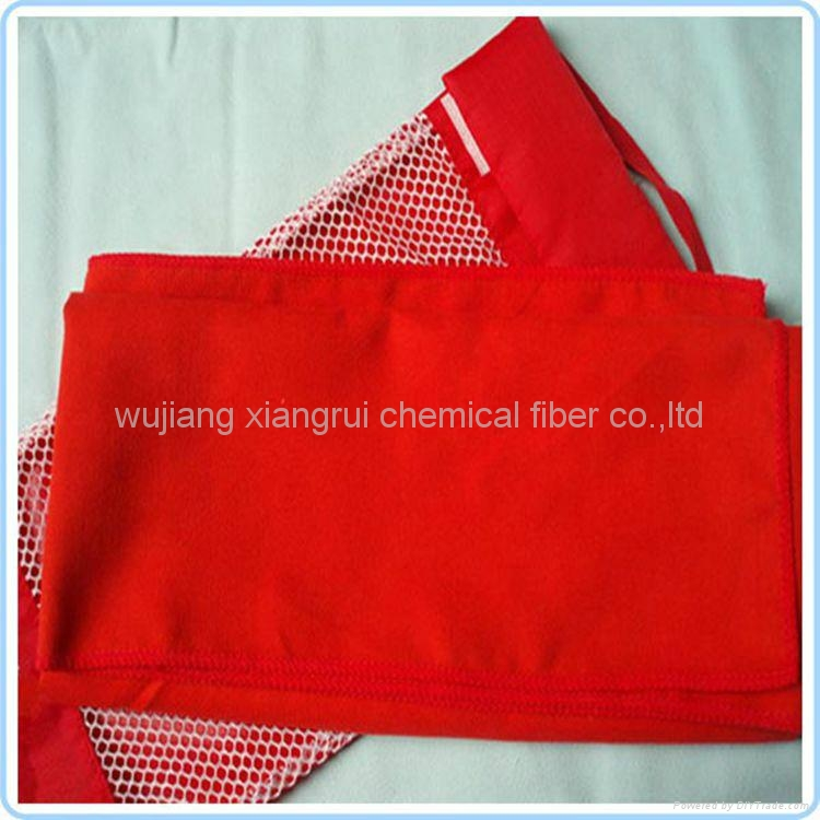 Polyester nylon suede fabric for cleaning cloth 4