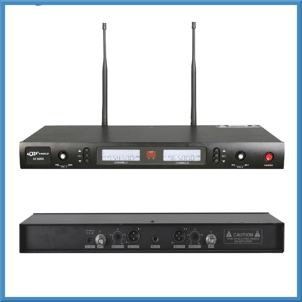 红外线对频无线麦克风 2
