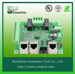 Electronic pcb assembly by original components