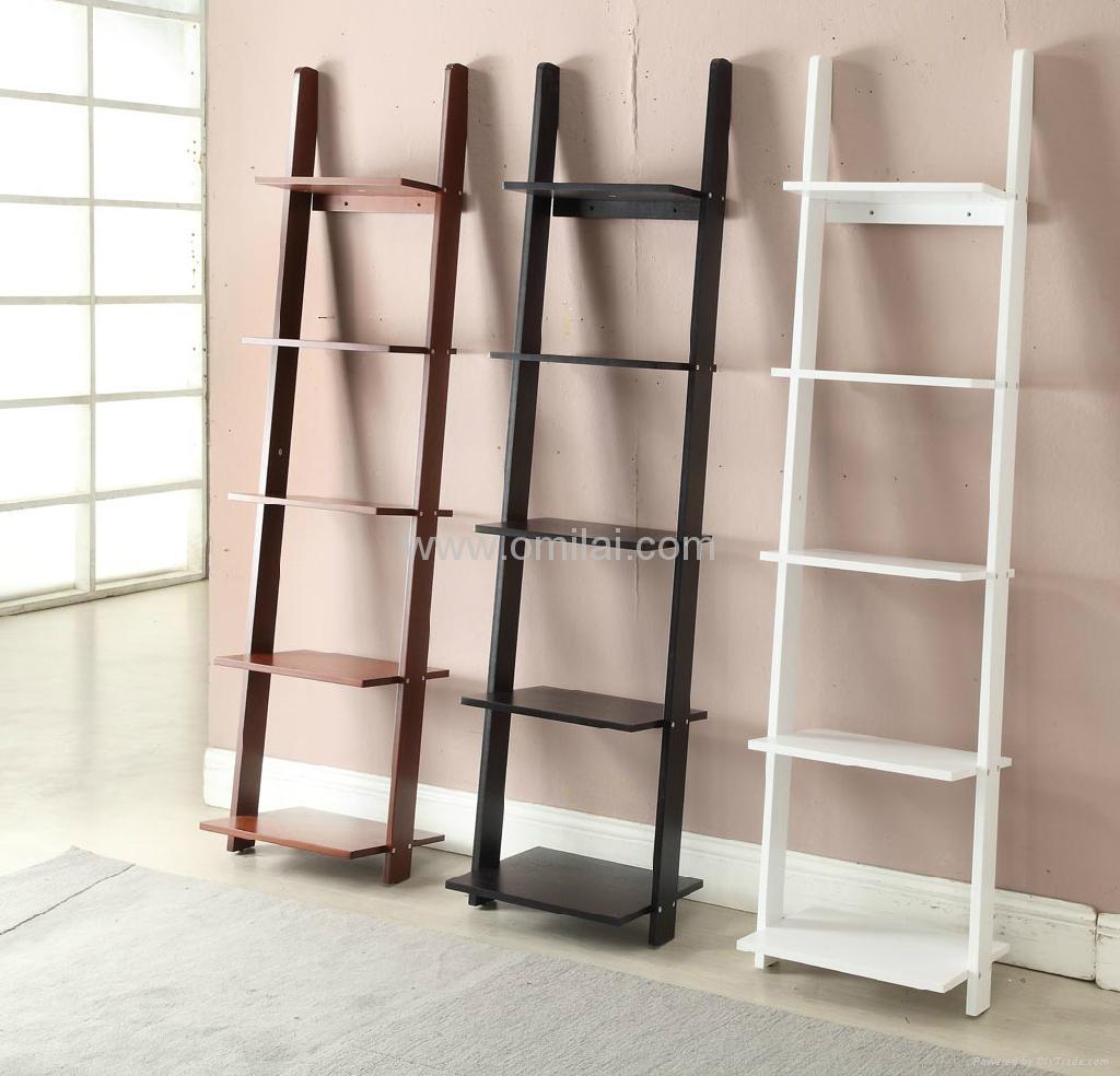 5 Ladders Book Shelf Fashion Decorative Bookcases 412201