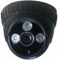Plastic IR Array Dome Camera with CMOS