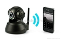 Wifi IP Webcam PTZ Remote Control Mini Camera CCTV (ASW380)