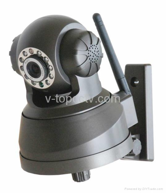 Wifi IP Webcam PTZ Remote Control Mini Camera CCTV (ASW380) 4