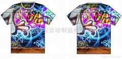 Digital printing  T-shirt