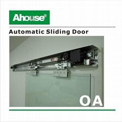 Automatic sliding door kit