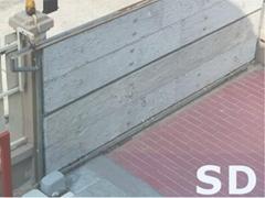 Remote sliding gate operator