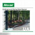 DC24V underground swing gate opener 5