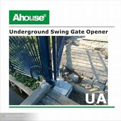 IP67 below ground double swing gate opener