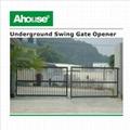 IP67 below ground double swing gate opener 2