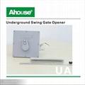 IP67 below ground double swing gate opener 3