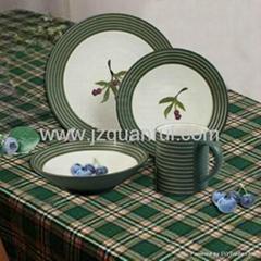 16頭陶瓷餐具
