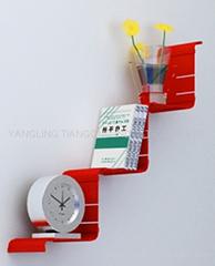 WV metal shelf wall mounted