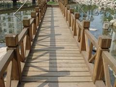 防腐木木桥