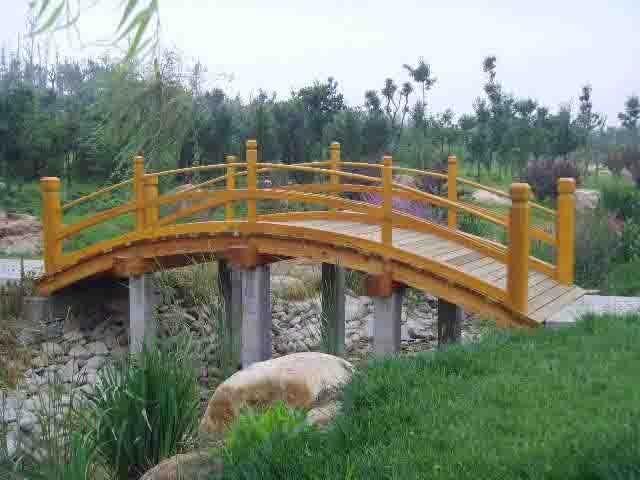 防腐木木桥 2